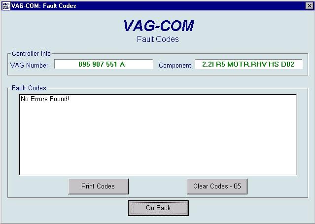 VAG_COM Diagnostics